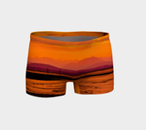 Saratoga Sunset Vancouver Island Shorts by Van Isle Goddess