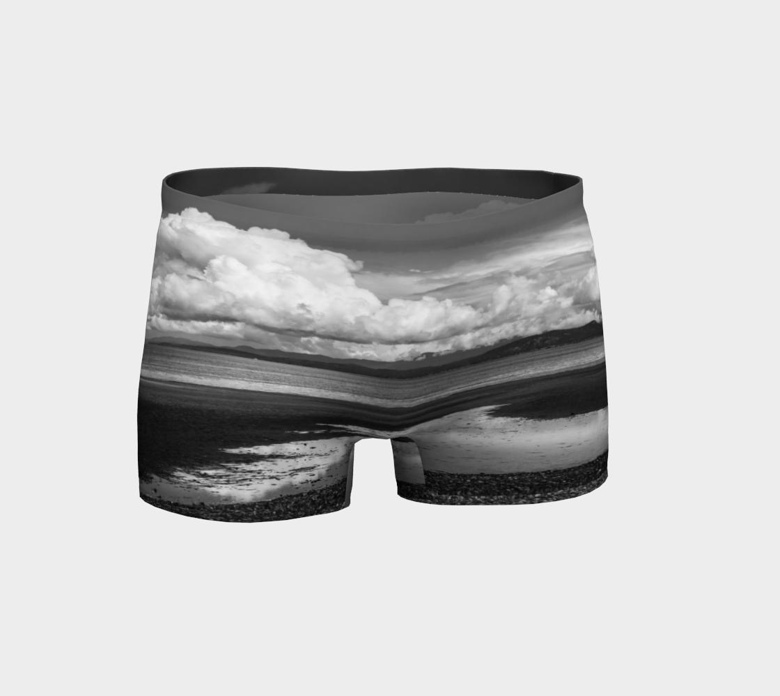 Magnificently Cloudy Shorts by Van Isle Goddess of Vancouver Island