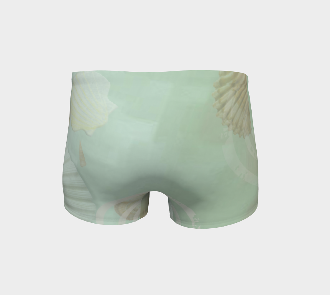 Island Goddess Shorts Back