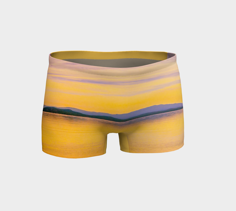 Magic Morning Shorts by Roxy Hurtubise Front