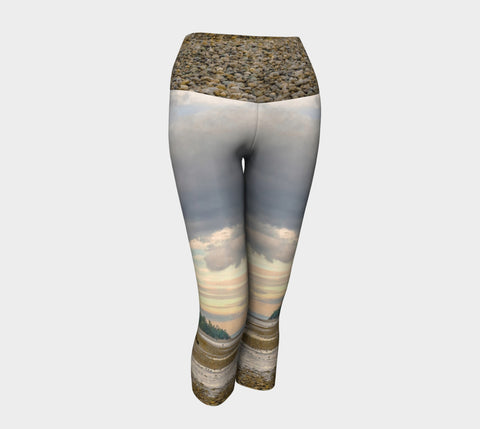 Miracle Beach Yoga Capris by Roxy Hurtubise VanIsleGoddess.Com Front