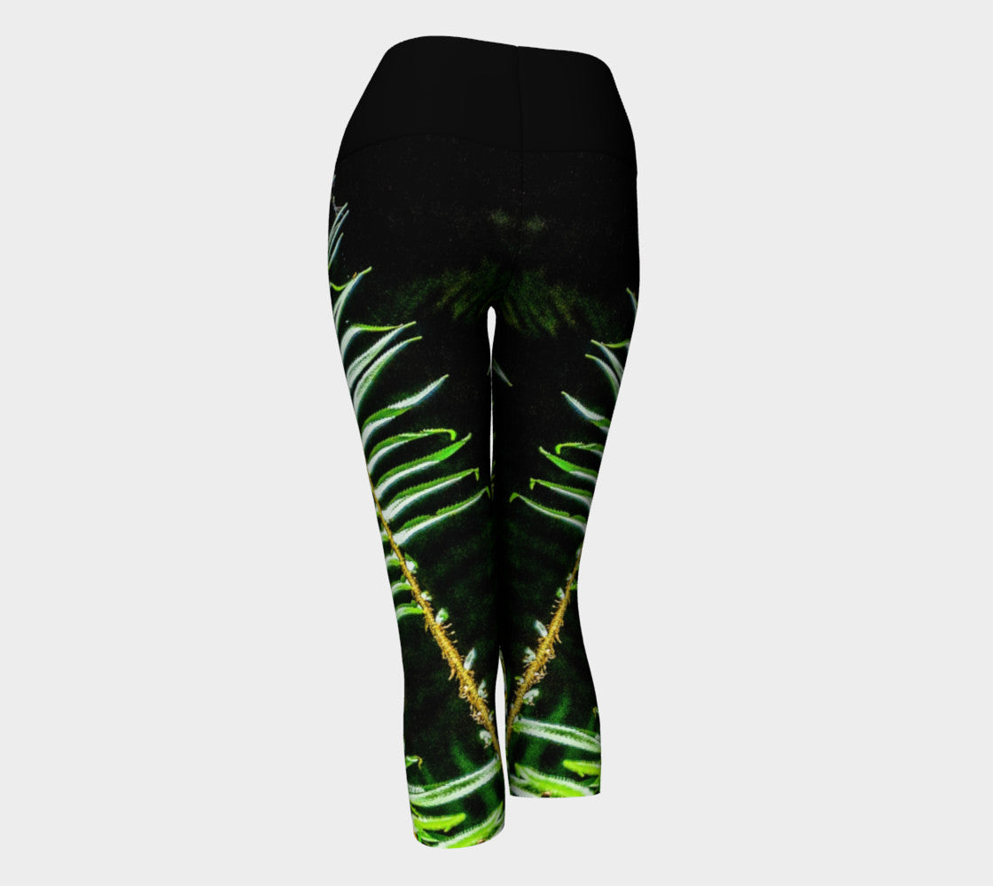 Rainforest Yoga Capris by Roxy Hurtubise VanIsleGoddess.Com Back