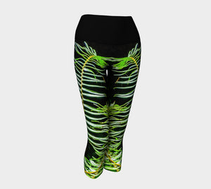 Rainforest Yoga Capris by Roxy Hurtubise VanIsleGoddess.Com Front