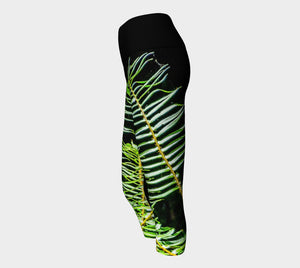 Rainforest Yoga Capris by Roxy Hurtubise VanIsleGoddess.Com Side