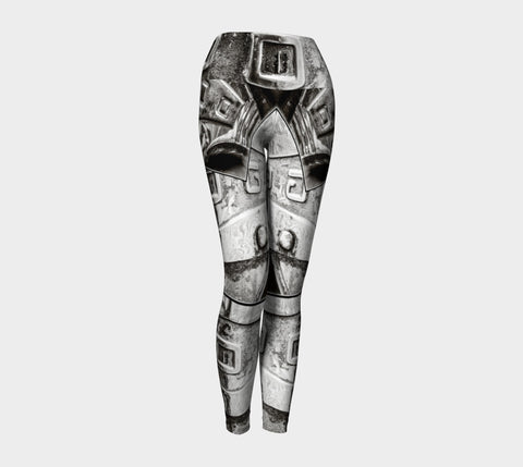 Dodge Girl Yoga Leggings by Roxy Hurtubise VanIsleGoddess.Com Front