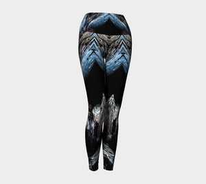 Driftwood Yoga Leggings by Roxy Hurtubise VanIsleGoddess.Com Front