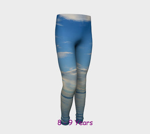 Qualicum Beach Youth Leggings