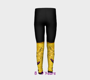 Star Track II Youth Leggings  Van Isle Goddess youth leggings for ages 4 - 12.  Makes a great gift idea from Vancouver Island! by Roxy Hurtubise vanislegoddess.com