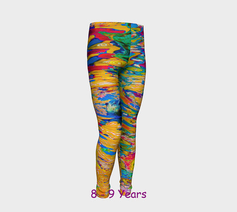 Otter Art Youth Leggings