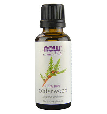 NOW SOLUTIONS, Aceite Esencial de Enebro de Virginia (Cedarwood), 30 ml.