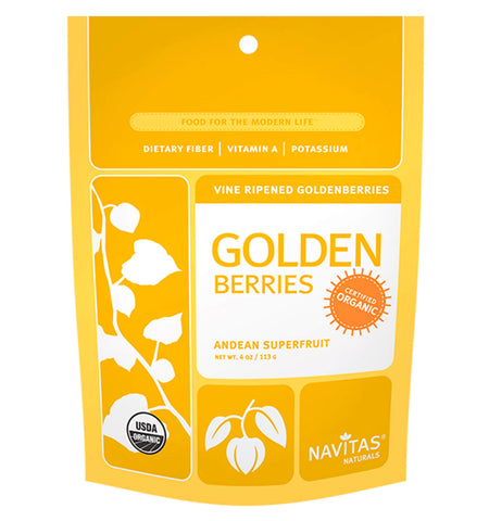 NAVITAS, Goldenberries, 113 gr.