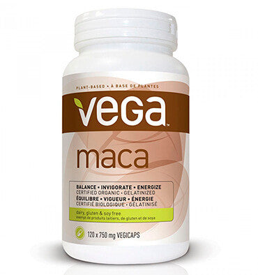 VEGA SUPPLEMENTS, Maca  en cápsulas 750 mg. 120 vcaps