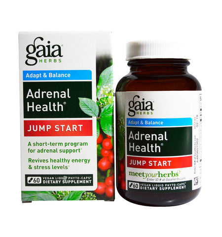 GAIA HERBS, Adrenal Health JUMP START, 60 vcap.