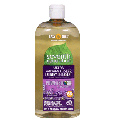 SEVENTH GENERATION, Ultra Concentrated Laundry Detergent Fresh Lavender – 23.1 fl oz
