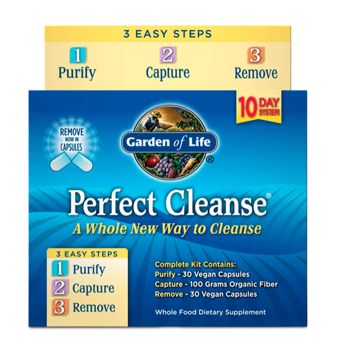 GARDEN OF LIFE, Perfect Cleanse with Organic Fiber 10 Day KIT