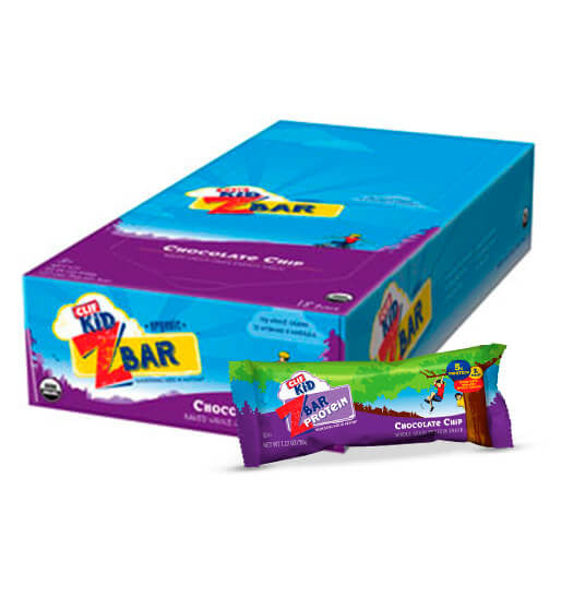 Clif Z Bar Kids, Barra sabor Chocolate Chip, 18 barras.