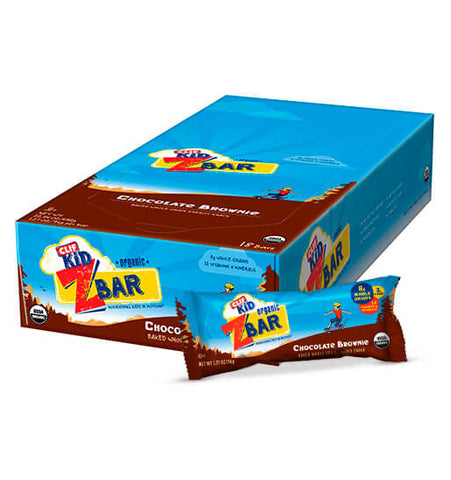 Clif Z Bar Kids, Barra sabor Chocolate Brownie, 18 barras.