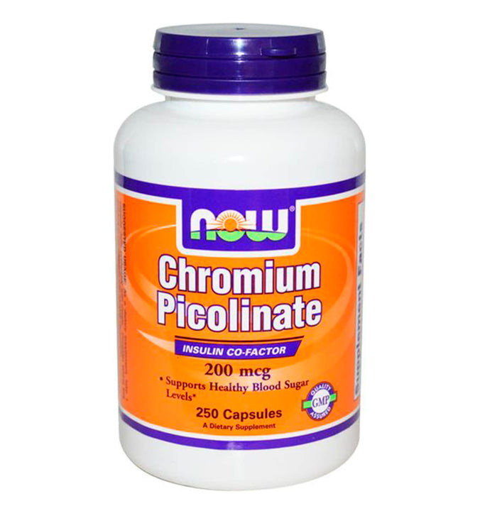 NOW FOODS, Chromium Picolinate 20 mcg. 250 tabs