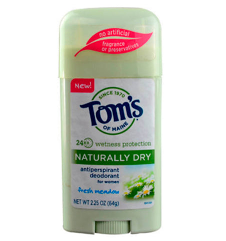 TOM'S OF MAINE, Desodorante Antitranspirante Natural, aroma Prado Fresco, 64 gr.