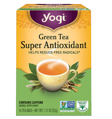 YOGI, Yogi Super Anti-Oxidant Green Herbal Tea -- 16 Tea Bags