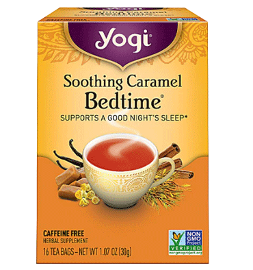 YOGI, Yogi Bedtime® Herbal Tea Caffeine Free Soothing Caramel -- 16 Tea Bags