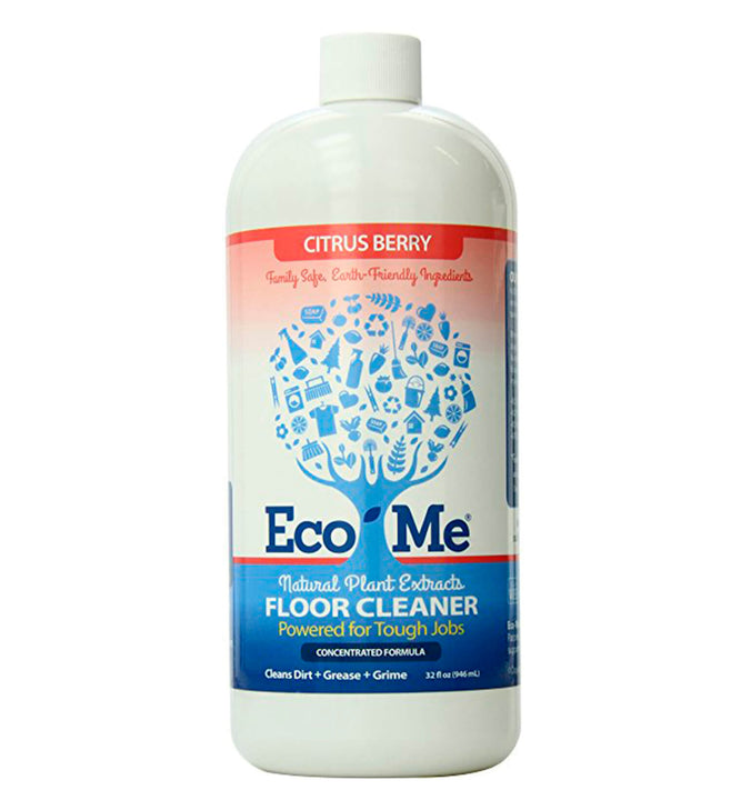 ECO-ME, Limpiador de Piso Natural, Aroma Cítrico y Berries, 946 ml.