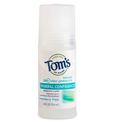 TOM'S OF MAINE, Desodorante Roll on, Libre de Aroma, 70.9 ml.
