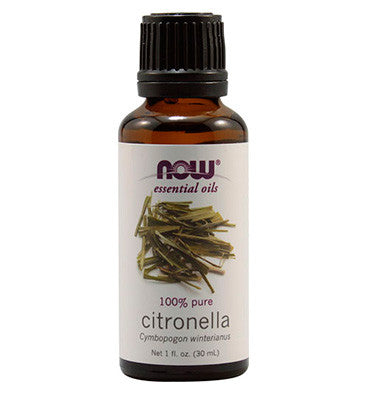 NOW SOLUTIONS, Aceite Esencial de Citronella, 30 ml.