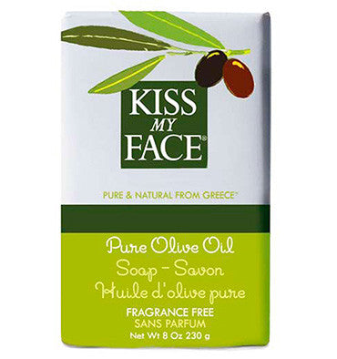 KISS MY FACE, Jabón Natural, Oliva, 230 gr.