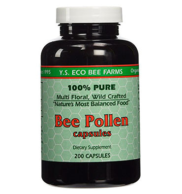 YS ECO BEE FARMS, Polen de Abeja, 200 caps.