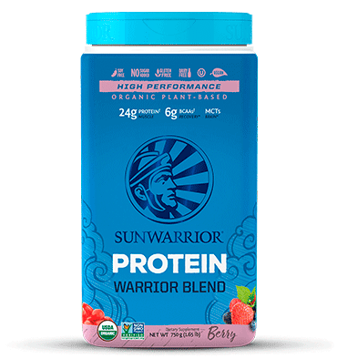 SUNWARRIOR, Warrior Blend sabor Berries, 750 gr.