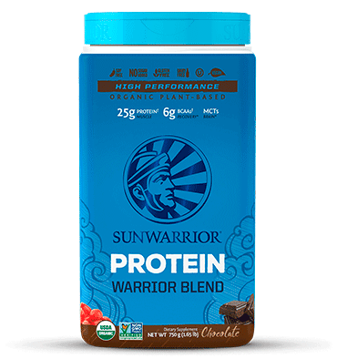 SUNWARRIOR, Warrior Blend sabor Chocolate, 750 gr.