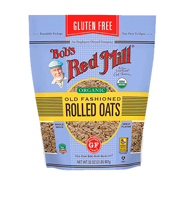BOB'S RED MILL, Avena Old Fashion Libre de Gluten, 907 gr.