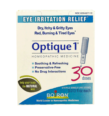 BOIRON, Optique 1 Eye Irritation Relief,  30 Doses