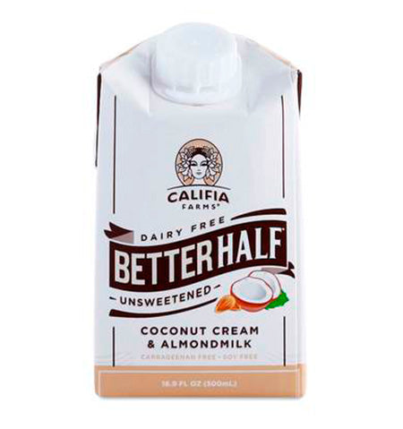 CALIFIA FARMS, Crema de Coco y Leche de Almendras, Lite, 500 ml.