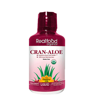 COUNTRY LIFE, Cran Aloe, Sabor Cranberrie, 944 ml.