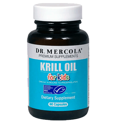 DR. MERCOLA, Krill Oil for Kids – 60 Capsules