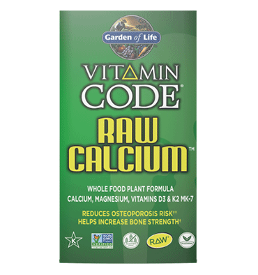 GARDEN OF LIFE, VITAMIN CODE, Raw Calcio, 60 vcaps.