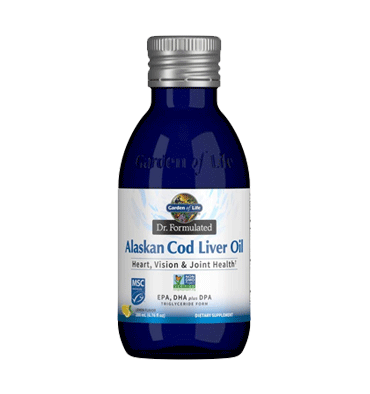 GARDEN OF LIFE, DR. FORMULATED, Alaskan Cod Liver Oil 200m
