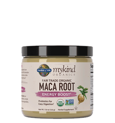 GARDEN OF LIFE, Mykind Herbal, Maca en Polvo, 225 gr.
