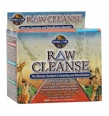 GARDEN OF LIFE, Raw Cleanse 7 dias, 1 paquete