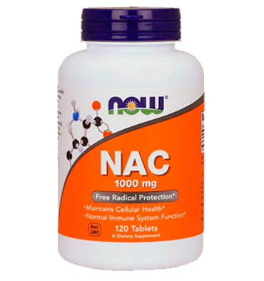 NOW FOODS, NAC 1000 mg. 120 Tabs