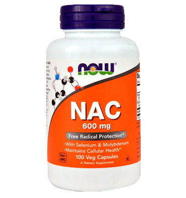 NOW FOODS, NAC 600 mg. 100 vcaps