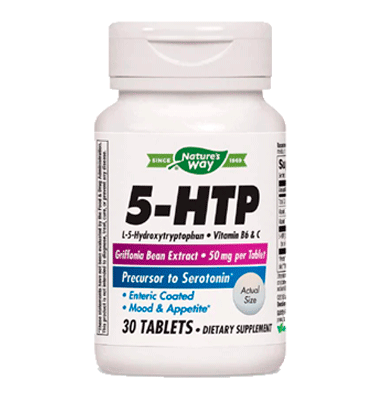 NATURE'S WAY, 5 HTP 50 mg, 30 Tabs