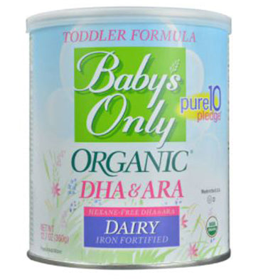 NATURE'S ONE BABY'S ONLY, Organic DHA & ARA, Premium Toddler Formula, 360 gr.
