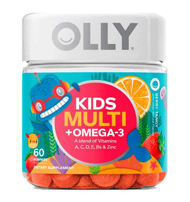 OLLY, Kids Multi + Omega 3, 60 Gummy