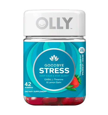 OLLY, Goodbye Stress Berry Verbena, 42 Gummies
