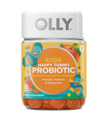OLLY, Kids Probiotic plus Prebiotic Just Peachy, 30 Gummies