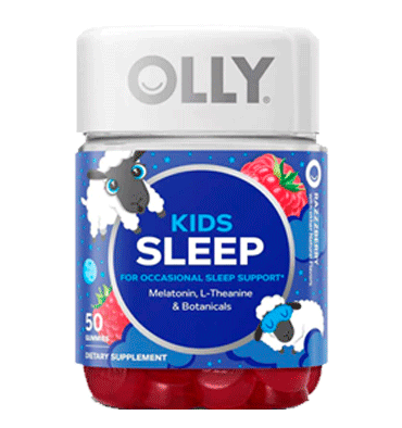 OLLY, Kids Sleep Razzberry, 50 Gummies
