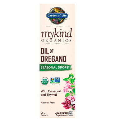 GARDEN OF LIFE, Mykind, Herbal Oil of Oregano, 1 oz.
